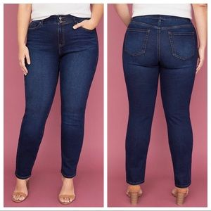 Lane Bryant Jeans 18 Short Tighter Tummy Skinny